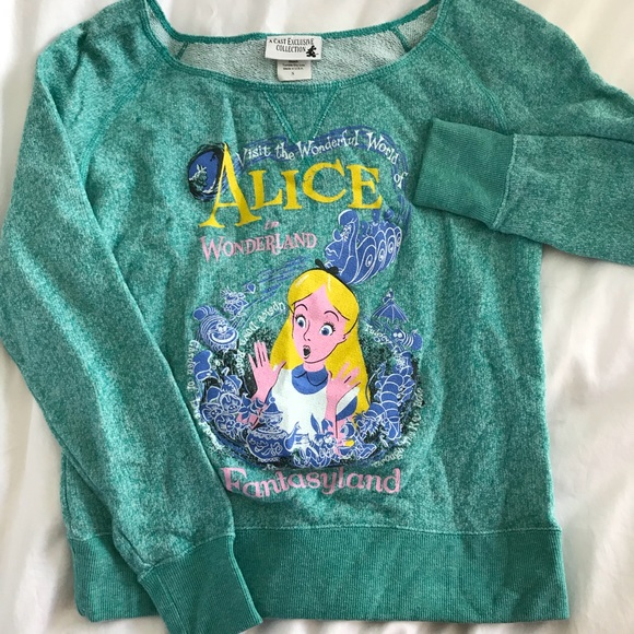 Sweaters Exclusive Disneys Alice In Wonderland Sweater Poshmark